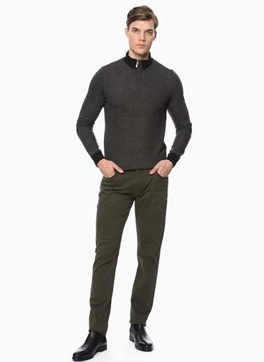 George Hogg Slim Fit Pantolon Haki